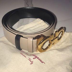 Salvatore Ferragamo Accessories - Salvatore Ferragamo Women's Reversible Belt